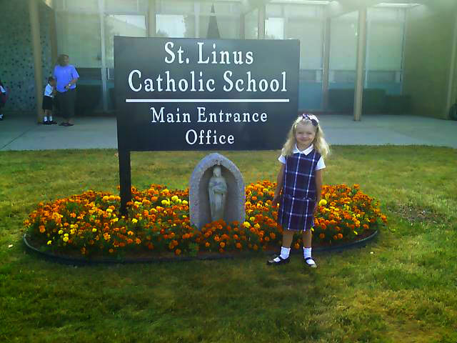 Madison's First Day of School