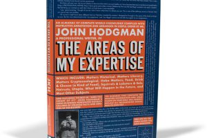 New Book: The Areas of My Expertise by John Hodgman