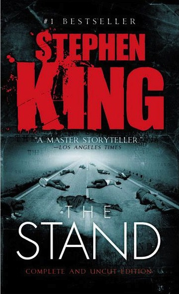 "M-O-O-N that spells ""Tom finished reading The Stand"" by Stephen King"