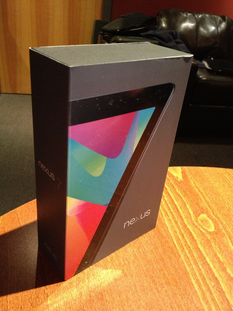 Trade In – iPad 1 for Nexus 7