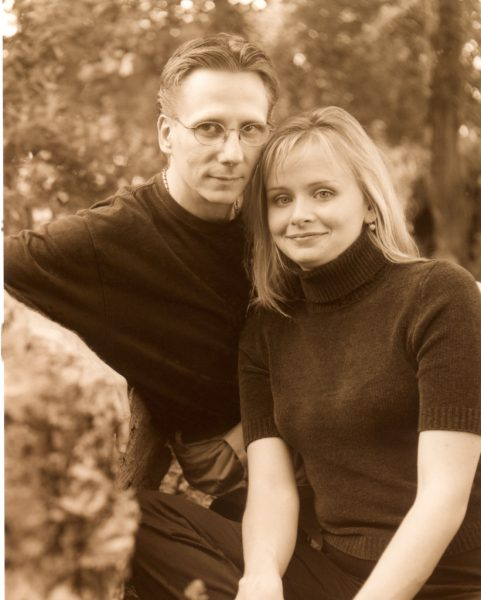 Engagement Photo from 2002