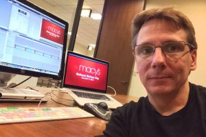 Editing at Macy's in Chicago Today